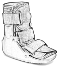 boot for foot pain