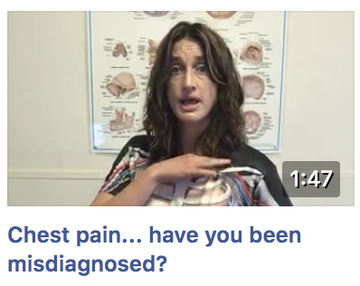 Chest pain - have you been mis-diagnosed?