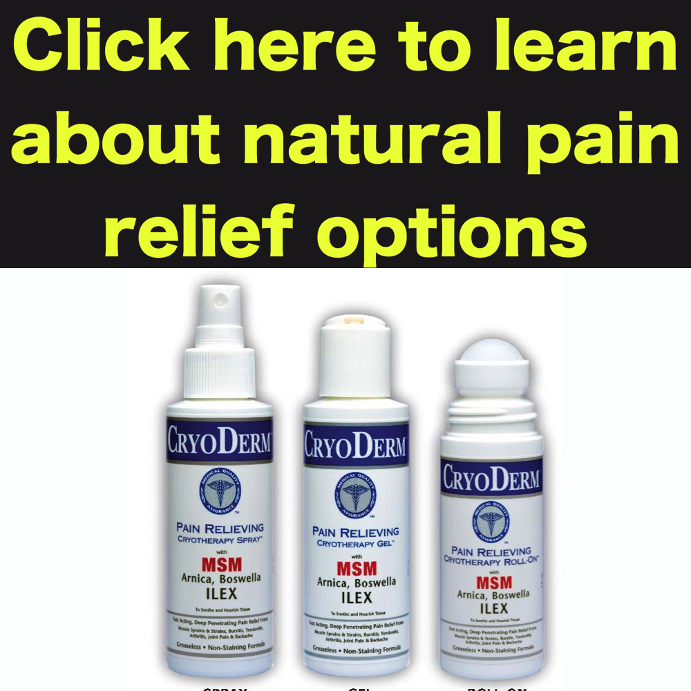 natural pain relief for foot pain