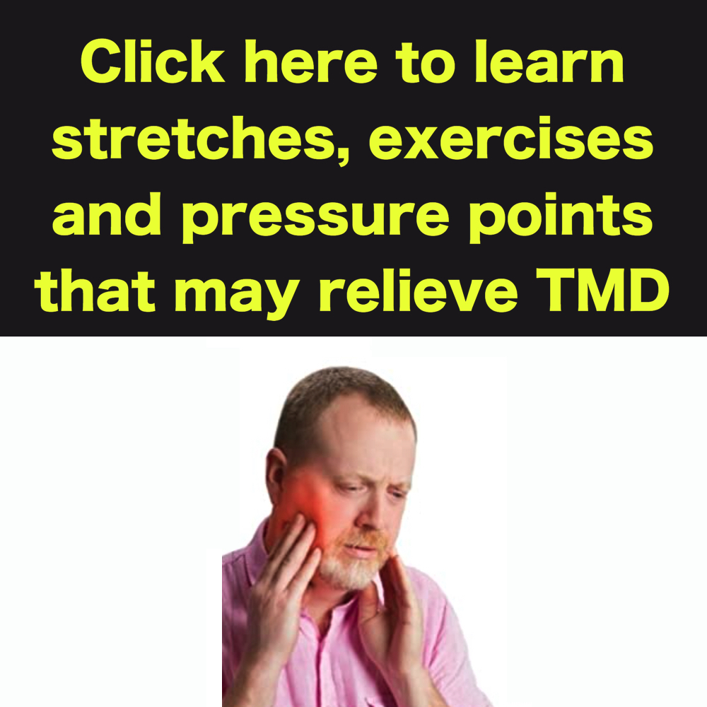 tmd relief with stretches and exercises