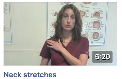 Facebook Live Neck Stretches