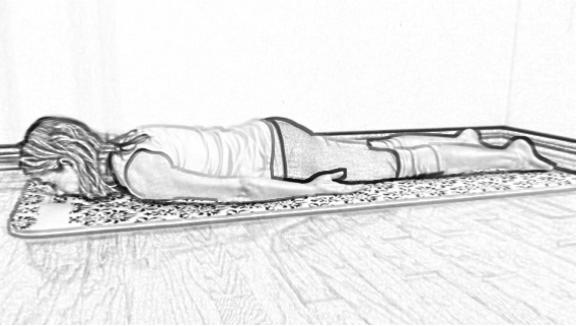 prone prep for extension for mid-back pain