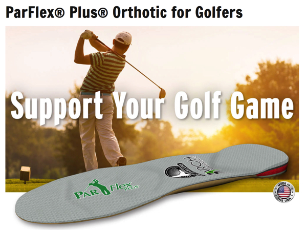 orthotics for golfers