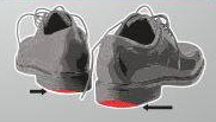 over pronation sign 5 shoes wear unevenly